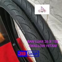 BAN LUAR SEPEDA 26 X 1.50 150 SWALLOW DELI TIRE 26X1.50 26X150 SOFT