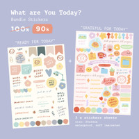 Moon Pancake What Are You Today Sticker Series