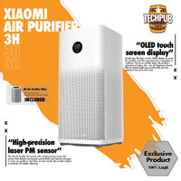 Xiaomi Mi Air Purifier 3/3H OLED Touch Display Multifunction 400 CADR - Global