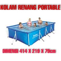 Kolam Renang Dewasa Portable Kotak Big Size Jumbo Anak Pool Anak Rumah