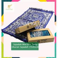 Souvenir Sajadah BOX Sajadah Turki Bahan Lembut Ukuran Mini (MNBOX)