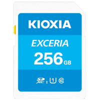 Kioxia SD Card 256GB Exceria class 10 UHS-1 Read up to 100Mb/s