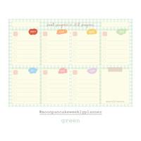 Moon Pancake Weekly Planner