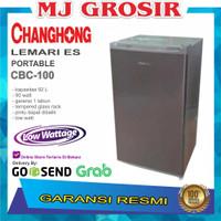 CHANGHONG MINI BAR CBC100 CBC 100L KULKAS PORTABLE PORTABEL 100 LITER