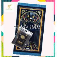 Sajadah Turki Wangi Parfum Tebal Halus Murah Motif Arabia NEW (DTSW)
