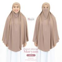 Hijab Hayuri French Khimar Maryam / Hijab Instan Cadar - Millo