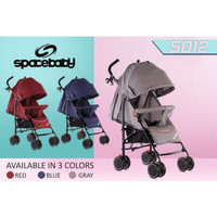 Space Baby stroller / Buggy 5012 - NLM