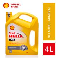 Oli Mesin Mobil Shell Helix HX5 15W-40 (4L)