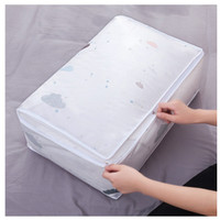 Storage Bag Dust Cover Cloth Bag Tempat bed cover pakaian
