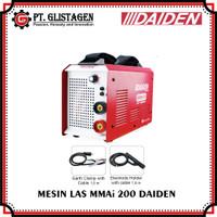 Mesin Las Listrik Welding Inverter Travo Trafo Las MMAi 200 Daiden