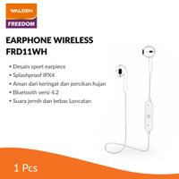 Walden Earphone Wireless Sport White / Earphone Bluetooth FRD11