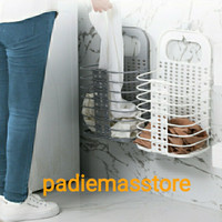 Keranjang Laundry Lipat - Foldable Basket Laundry