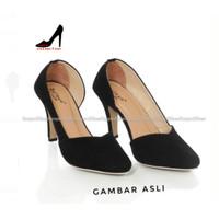 ISSUE - sepatu High Heels pantofel kerja hak tinggi wanita casual