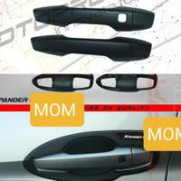 Paket Cover handle + outer mangkok pintu hitam otoproject Xpander