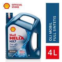 Oli Mesin Mobil Shell Helix HX7 5W-40 (4L)