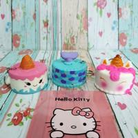 Squishy Murah Unicorn Tart Birthday Cake