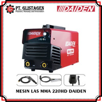 Mesin Las Listrik Welding Inverter Travo Trafo Las MMA 220HD Daiden