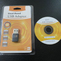 UAC09 Dual Band 5GHz & 2.4GHz Mini USB WiFi Adapter 802.11AC