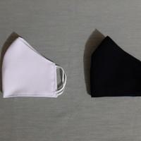 Masker Kain Semi Wool 2 lapis ( lapisan dalam katun polos )