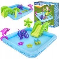 Kolam Renang Karet Anak Bestway Fantastic Aquarium Kid Play Pool 53052