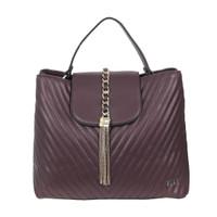 Handbag Elle 41083 - Burgundy