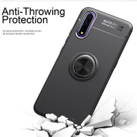 Soft Case Ring Autofocus Vivo S1 - Hitam