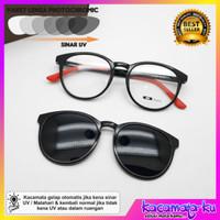 Kacamata sunglasses Wanita clip on Klip On Tiara fullset