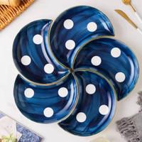 piring kramik bentuk bulan