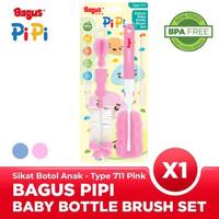 Bagus Pipi Deluxe Baby Bottle Brush Set Sikat Botol Bayi 711