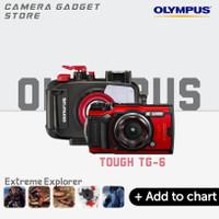 Olympus Tough TG-6 Bundle Olympus PT-059 - Red