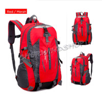 Ransel Backpack outdoor daypack Carrier impor 20 liter tas gunung - Merah