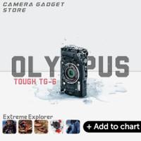 Olympus Tough TG-6 TG6 Underwater Camera - Black