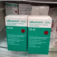 Human albumin 25% 50ml / Albunorm