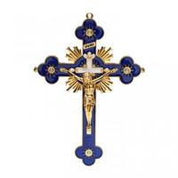 Salib Gantung Katolik Permata 25cm Pajangan Salib Besi Dinding Rohani