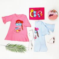 Baju Atasan Anak Perempuan / Blouse Fashion Anak Perempuan Cewek - M - Fanta, 3-4 tahun