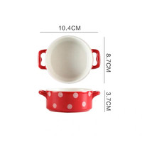 mangkok kramik bulat 5 warna