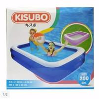 kolam renang anak 2 meter / kolam karet 2 meter kisubo 200 cm x150x150