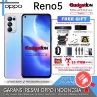 OPPO RENO 5 RENO5 8/128GB GARANSI RESMI - STARRY BLACK, NO BONUS