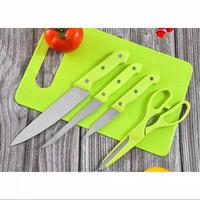 Talenan pisau gunting dapur Set