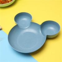 Piring Mangkok Makan Anak MICKEY MOUSE - Peralatan Makan Anak