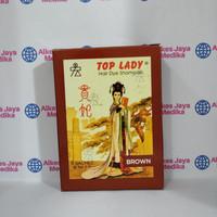Top Lady Brown isi 6 sachet (Pewarna Rambut)