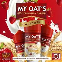 My Oat's By Vaporking x IDJ 100ml - Strawberry Oat E Liquid My Oat