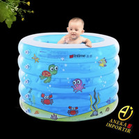 Kolam Renang Bayi Anak Bulat Intime 5 Ring / Baby Spa Swimming Pool