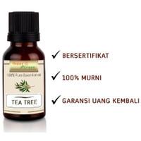 Happy Green Tea Tree Essential Oil (10 ml) - Melaleuca Alternifolia)