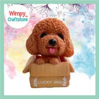 Cake Topper Miniature Anjing Dog Puppy Hiasan Cake Dekorasi Kue