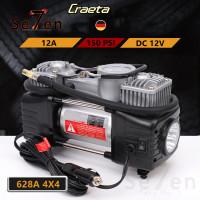 628A 4X4 Kompresor Angin Mini Pompa Angin Ban Mobil Air Compressor