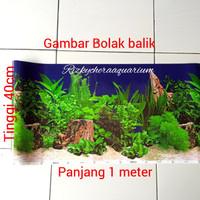 wallpaper background aquarium 40cm