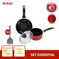 Tefal Wajan & Panci Set Essential 1 - Penggorengan