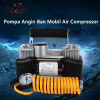 628 4X4 Kompresor Angin Mini Pompa Angin Ban Mobil Air Compressor