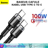 BASEUS CAFULE PD 2.0 KABEL USB TYPE C TO C CABLE FAST CHARGING 100W 2M